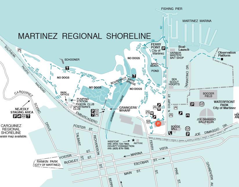 Directions to Martinez Marina